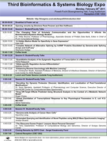 Bioinformatics EXPO 2011 schedule